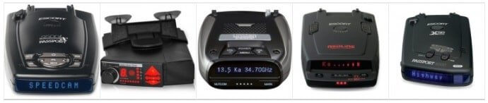 Top 5 Best Radar Detectors