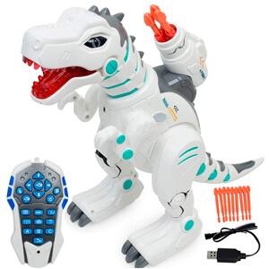 Hi-Tech Wireless Remote Control Robot Dinosaur Interactive RC Robot Toy
