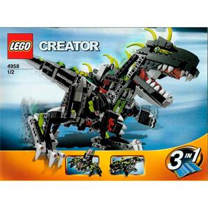 Construit par LEGO 4958 Monster Dino
