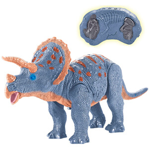 RC Walking Dinosaur Toy with Shaking Head