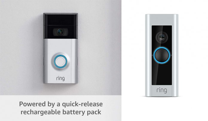 Upgraded, with added security features and a sleek design (existing doorbell wiring required)