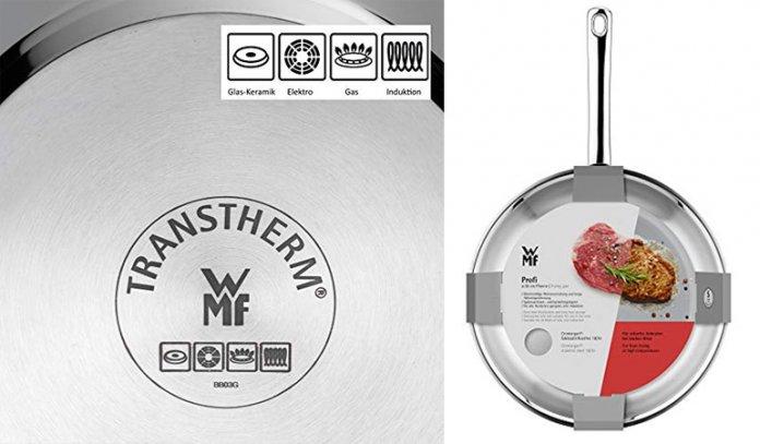 WMF Cromargan Stainless Steel Frying Pan