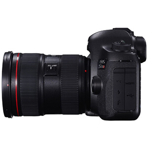 Digital SLR with Low-Pass Filter Effect Cancellation