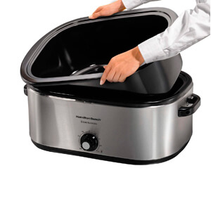 Roaster Oven with Self-Basting Lid (Stainless Steel)