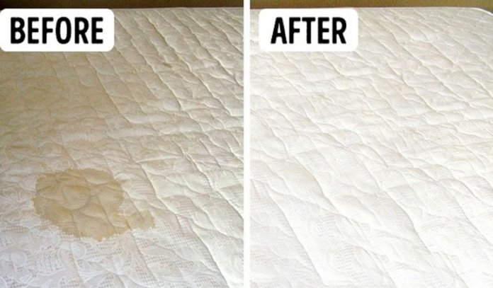 How to Easy Clean Mattress Stains