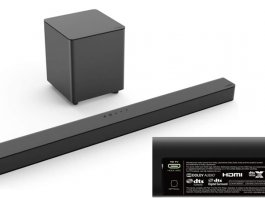 "Channel Soundbar System with 5 ""Wireless Subwoofer"