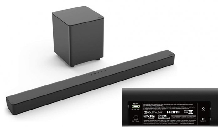 Channel Soundbar System with 5