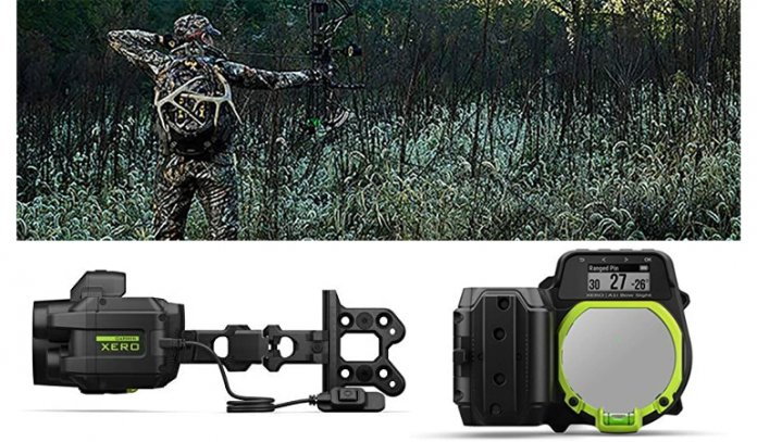 Auto-Ranging Digital Bow Sight with Laser Locate