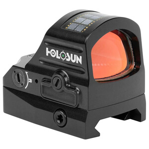 MOA Circle Dot Recticle Battery and Solar Powered Tactical Hunting Rifle Micro Green Dot Optic Sight