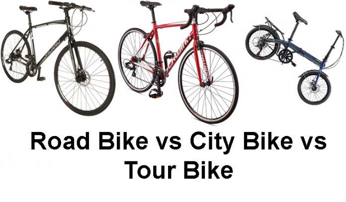 Road Bike vs City Bike vs Tour Bike | Which bike should I get?