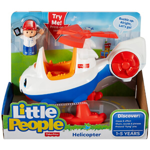 Fisher-Price Little People Helicopter by Fisher-Price Store
