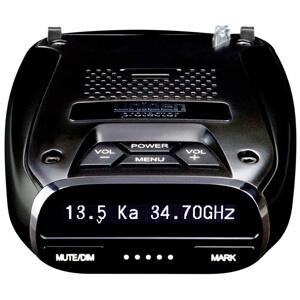 Super Long Range Wide Band Laser/Radar Detector, Built-in GPS w/Mute Memory