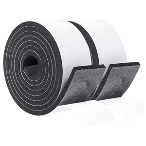 2 in One Roll 2 Inch Wide X 1/4 Inch Thick