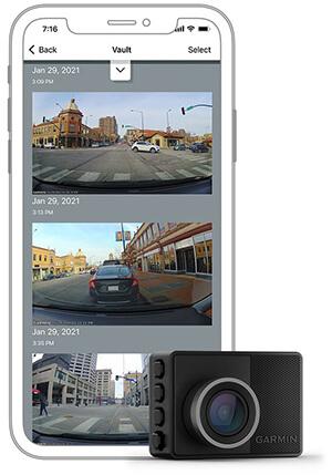 Multiple Camera System in Garmin Dash Cam 57