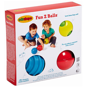 Brightly Colored And Textured For Tactile Development of Kids