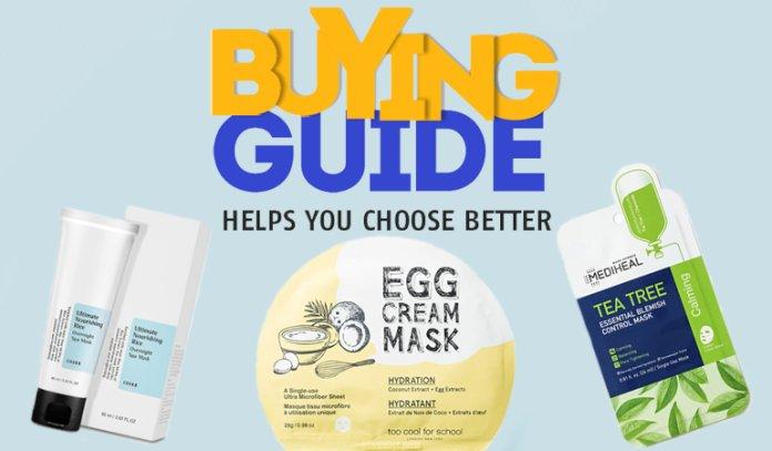 Best Korean Face Mask — Buyer's Guide