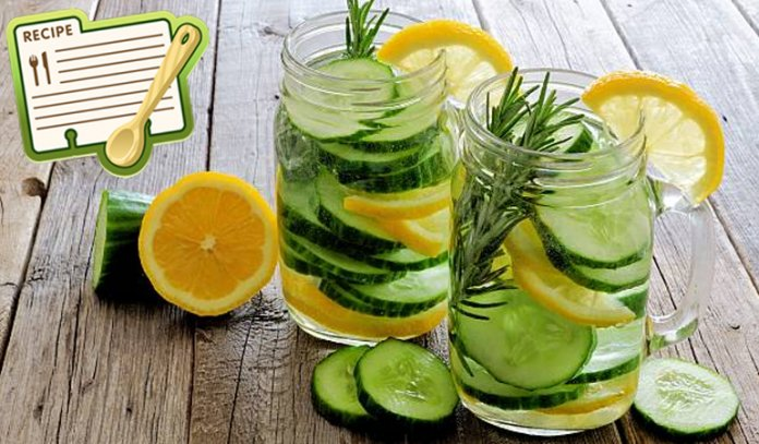 Lemon and Cucumber Water - Recipe and Health Benefits