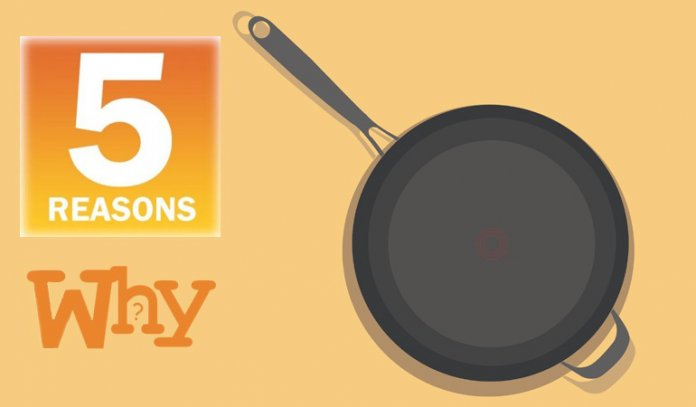 5 Reasons Why You Need A Non-stick Pan