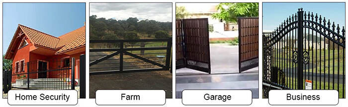 what to use automatic gate openers for