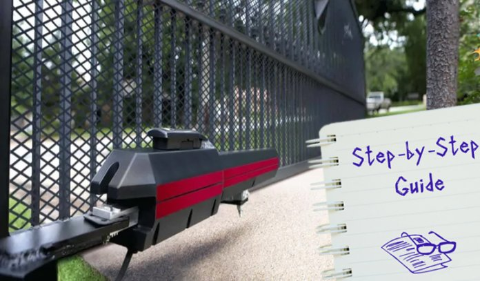How to install Automatic Gate Opener - Step by Step Guide